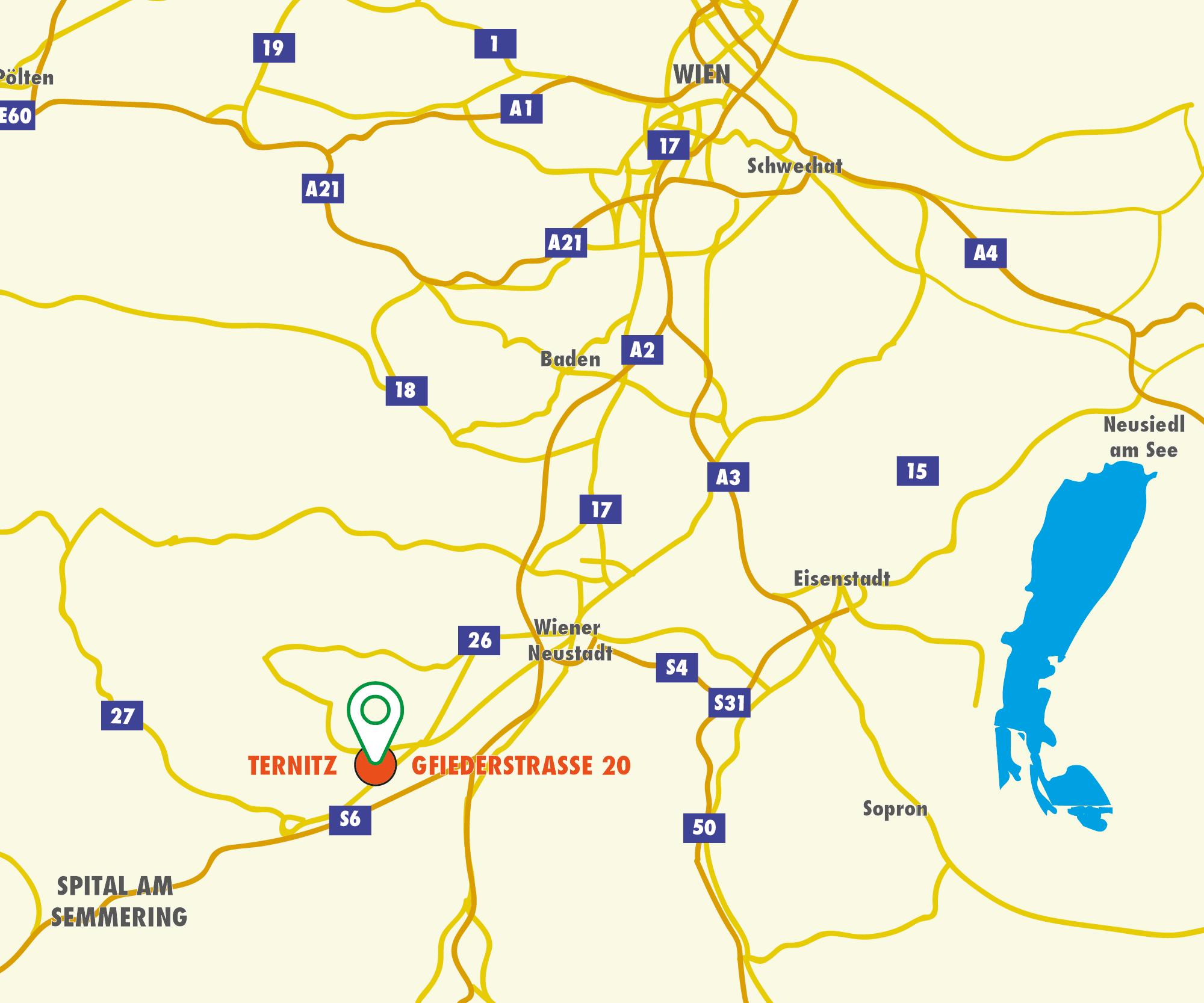 Anfahrtskizze - Website